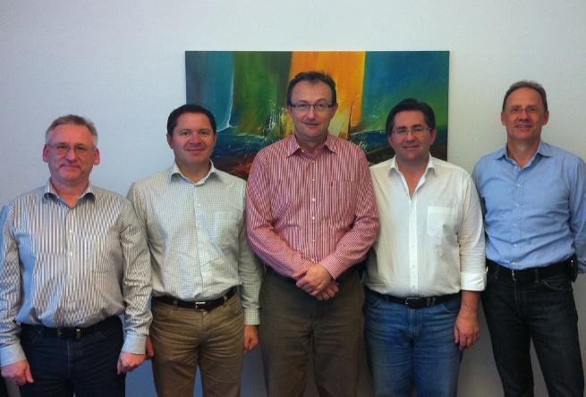 QC-Members: Manfred Gruber, Karl Postl, Johann Bauer, Hubert Kern, Gerald Sperl